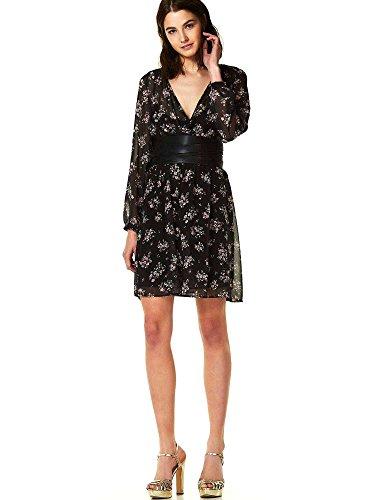 Liu-Jo W18039T9746 Dress Frauen Schwarz XmkcYzvMXU