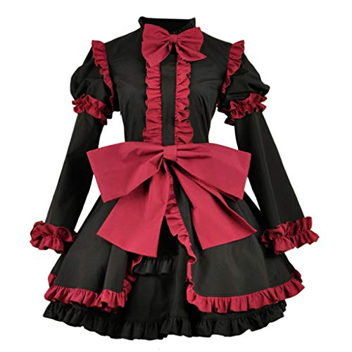 DUNHAO COS Anime Women's Fate/Apocrypha Grand Order Assassin Jack The Ripper Uniform Dress Suit Cosplay Costume S -