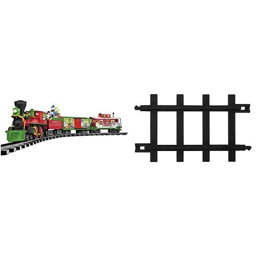 Lionel Mickey Mouse Disney Ready to Play Train Set and 12-Piece Straight Track Pack by Lionel