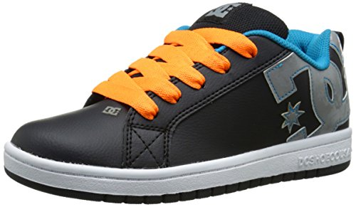 dc-court-graffik-youth-shoes-skate-shoe-infant-toddler-little-kid-big-kid-black-orange-grey-55-m-us-