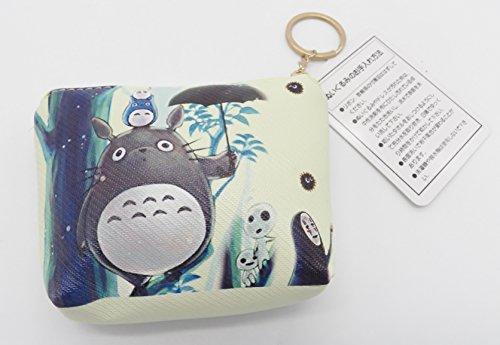 Coin Vinyl Zipper (Extremely Cute Totoro No Face Vinyl Multi Purpose Zipper Change Coin Purse Pouch #24)