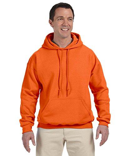 Gildan 9.3 oz Pullover Hooded Sweatshirt (12500) X-Large OSHA Orange