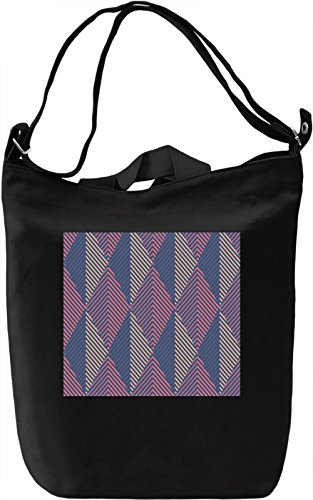 Folk Motifs Texture Borsa Giornaliera Canvas Canvas Day Bag| 100% Premium Cotton Canvas| DTG Printing|
