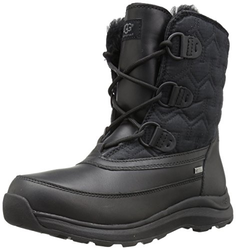 UGG Women's Lachlan Winter Boot, Black, 7 M US