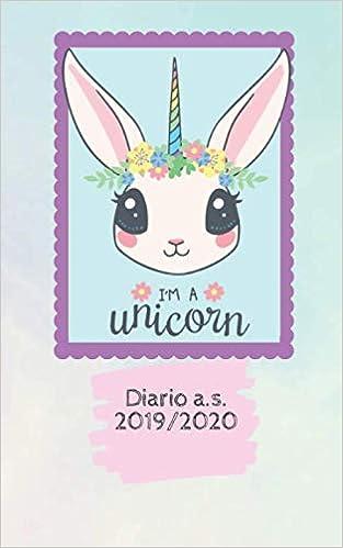 Diario a.s. 2019-2020 Im a Unicorn: Agenda diario ...