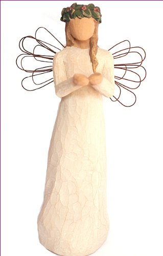 Willow Tree -Angel of Christmas Spirit - Willow Tree -Angel Of Christmas Spirit: Amazon.co.uk: Kitchen & Home