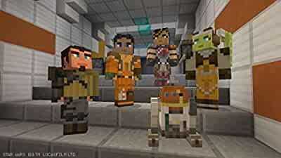 Amazoncom Minecraft DLC Star Wars Classic Skin Pack Wii U - Skins fur minecraft wii u