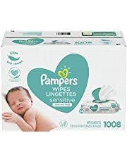 Baby Wipes, Pampers Sensitive UNSCENTED Pop-Top