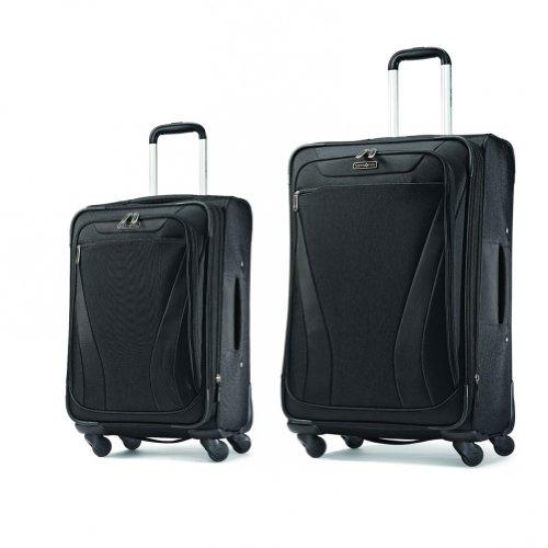 Samsonite Aspire GR8 2 Piece Luggage Set (One size, Black) by Samsonite