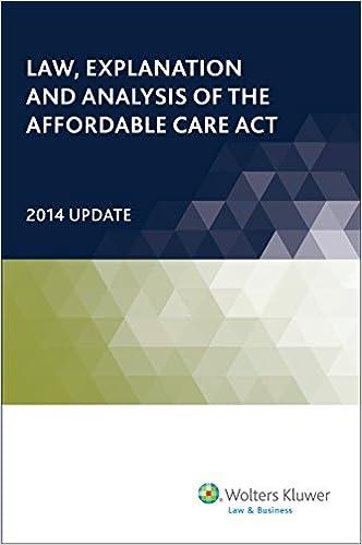 Download gratuito di libri di testo in formato PDF Law, Explanation and Analysis of the Affordable Care Act (2 Volumes) in italiano PDF ePub 0808039571