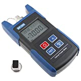 TOMO -50~+26dBm EF-200 Optical Fibers Tester Tool Optical Power Meter for Telecom Test, Batteries Included