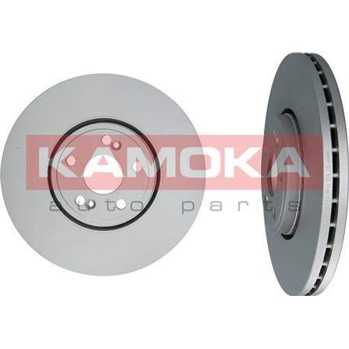 2 Kamoka Bremsscheiben Set Bel/üftet 324Mm Vorderachse