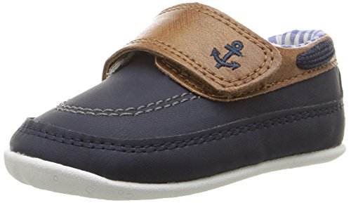 Baby Steps Anchor Baby Boy Shoes (Blue) - 1