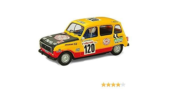 Scalextric Original Renault 4L Dakar (Fábrica de Juguetes A10160S300): Amazon.es: Juguetes y juegos