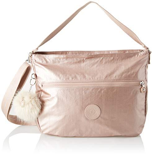 Kipling - Fenna, Sacs porté épaule doré pour femmes (blush métallisé)