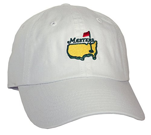 Great Golf Memories Masters Golf Hat (White) (Great Golf Memories)