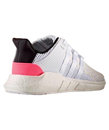 ... Adidas Originaler Menns Eqt Støtte 93/17 Hvit Og Grå Sneaker ...