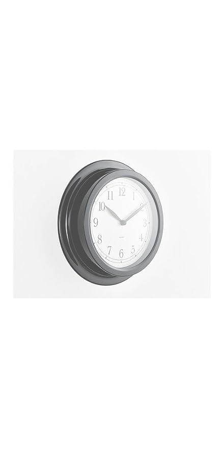 Ikea dekad reloj de pared, negro