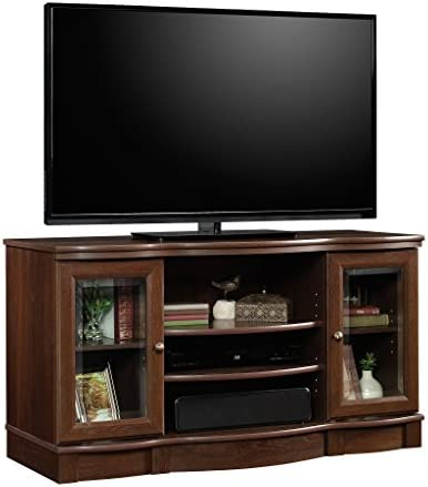 Sauder Regent Place TV Stand, For TV s up to 50 , Euro Oak finish