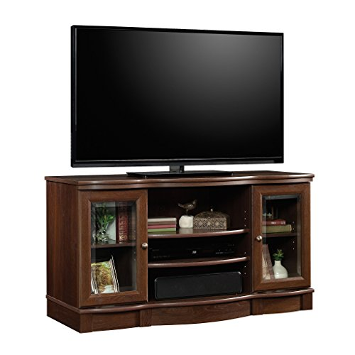 Stands Tv And Wood Glass - Sauder 419963 Regent Place TV Stand, For TV's up to 50