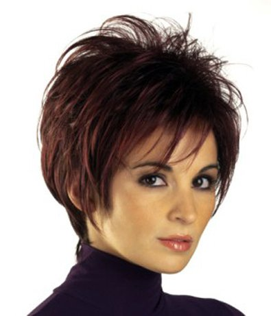 Tony of Beverly Womens Synthetic Wig ''Fiona''-1B: Off Black