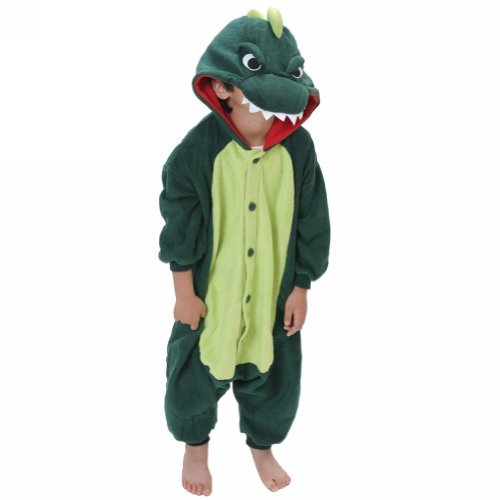 Ferrand Kigurumi Pajamas Children's Unisex Cosplay Animal Costume For Kids Dinosaur M
