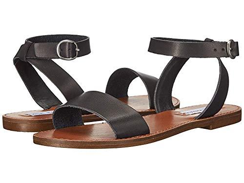 Steve Madden Women's Dairr Flat Sandal Black 7.5 M US
