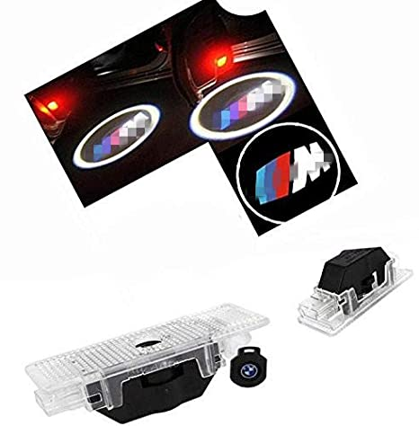 Welcome Light 2 Pair Of LED Courtesy Lights Easy Installation Car Door Laser Projector Logo Ghost Shadow Lights