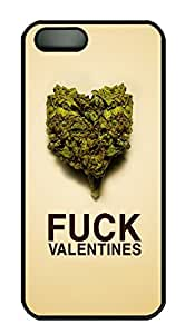 iPhone 5s Cases & Covers - Fuck Valentines Weed Custom PC Soft Case Cover Protector for iPhone 5s - Black