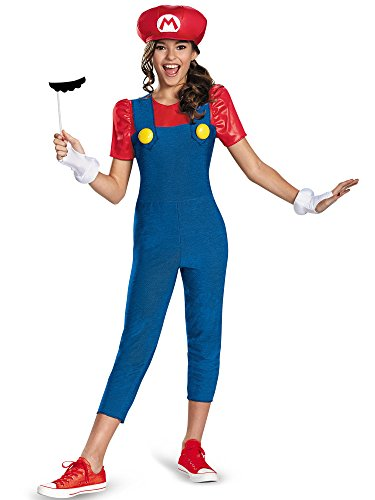 Nintendo Super Mario Brothers Mario Tween Costume, Large/10-12 -