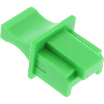 Dust Cover for RJ45 socket green 100 pcs Pack