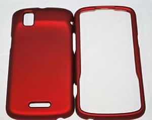 Motorola Droid Pro XT610 smartphone Rubberized Hard Case - Maroon