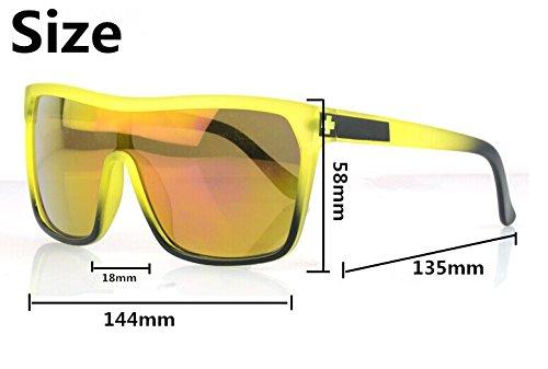 Men's Womens Spy Flynn Eyewear Retro Outdoor Personalized Sunglasses Spy 2-7