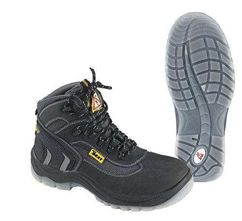 Seba 699CE Schuh hohe, Schwarz S3, Größe 38