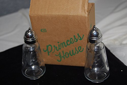 (Princess House Heritage Crystal Salt & Pepper Shakers #455)