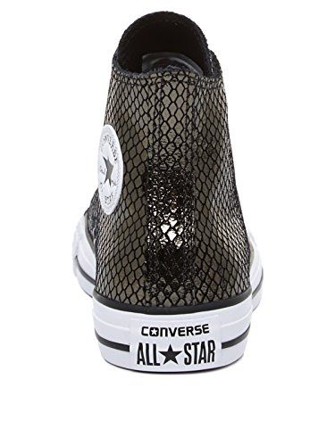 Converse Lederchucks CT AS HI 555966C Schwarz Black/Black/White