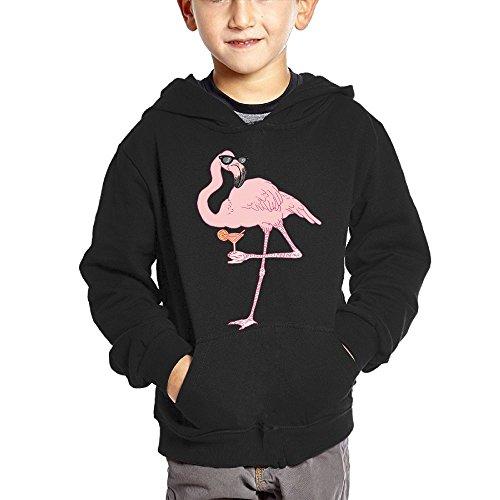Joapron Sunglass Flamingos Kids Long Sleeve Pocket Pullover Hooded Sweatshirt Black Size 2 - Sunglasses 1989 Taylor Swift
