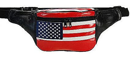 962AL American Flag Fanny Pack style