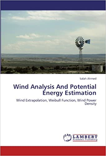 Wind Analysis And Potential Energy Estimation: Wind Extrapolation, Weibull Function, Wind Power Density