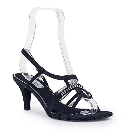 FARFALLA Luxury Shoes Black ibGYbl