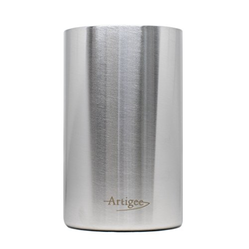 Artigee Wine Cooler Bucket Premium Grade Double Wall Insulated Stainless Steel - Iceless Bottle Cooler - Perfect Wine and Champagne Chiller