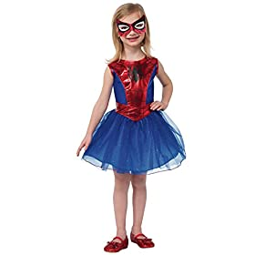 - 41PmsABiwVL - Rubie's Marvel Universe Classic Collection Spider-Girl Costume