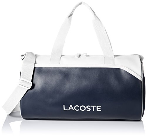 Lacoste Men's Ultimum Duffle Bag, Peacoat White, One Size