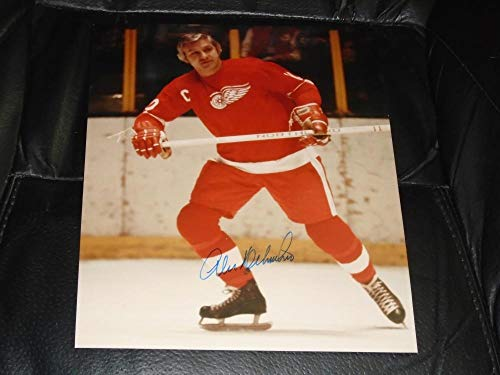 ALEX DELVECCHIO DETROIT REDWINGS HALL OF FAMER 8X10 SIGNED AUTOGRAPHED PICTURE 100 ()