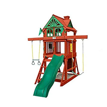 Amazon Com Gorilla Playsets Five Star Ii Space Saver