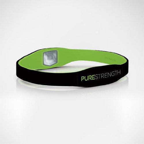 LifeStrength Pure Series Bracelet - Large - Black/Green - 1 ea. Model # 6680
