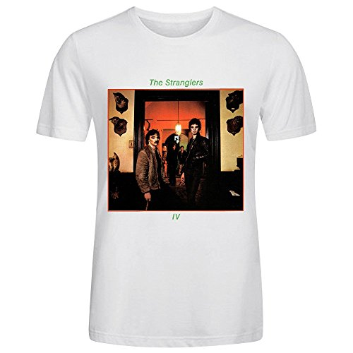 The Stranglers Rattus Norvegicus Men's O Neck Classic Tee Shirts White (Park Ross Ray)