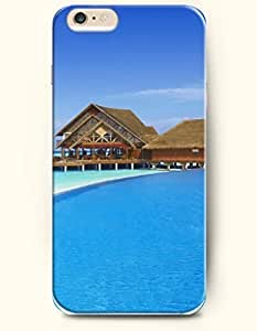 iPhone 6 Case 4.7 Inches Sea and Beach - Hard Back Plastic Phone Cover SevenArc Authentic