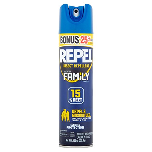 Insect Repellent, Repel 15% Deet Family Scented Formula, 8.1