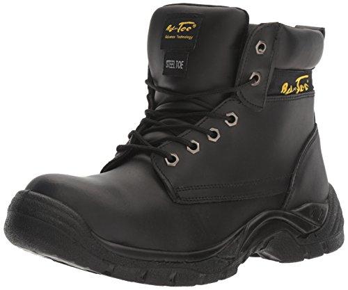 Adtec Mens 9636 6 Steel Toe Black Work Boot Black A0xhDYf